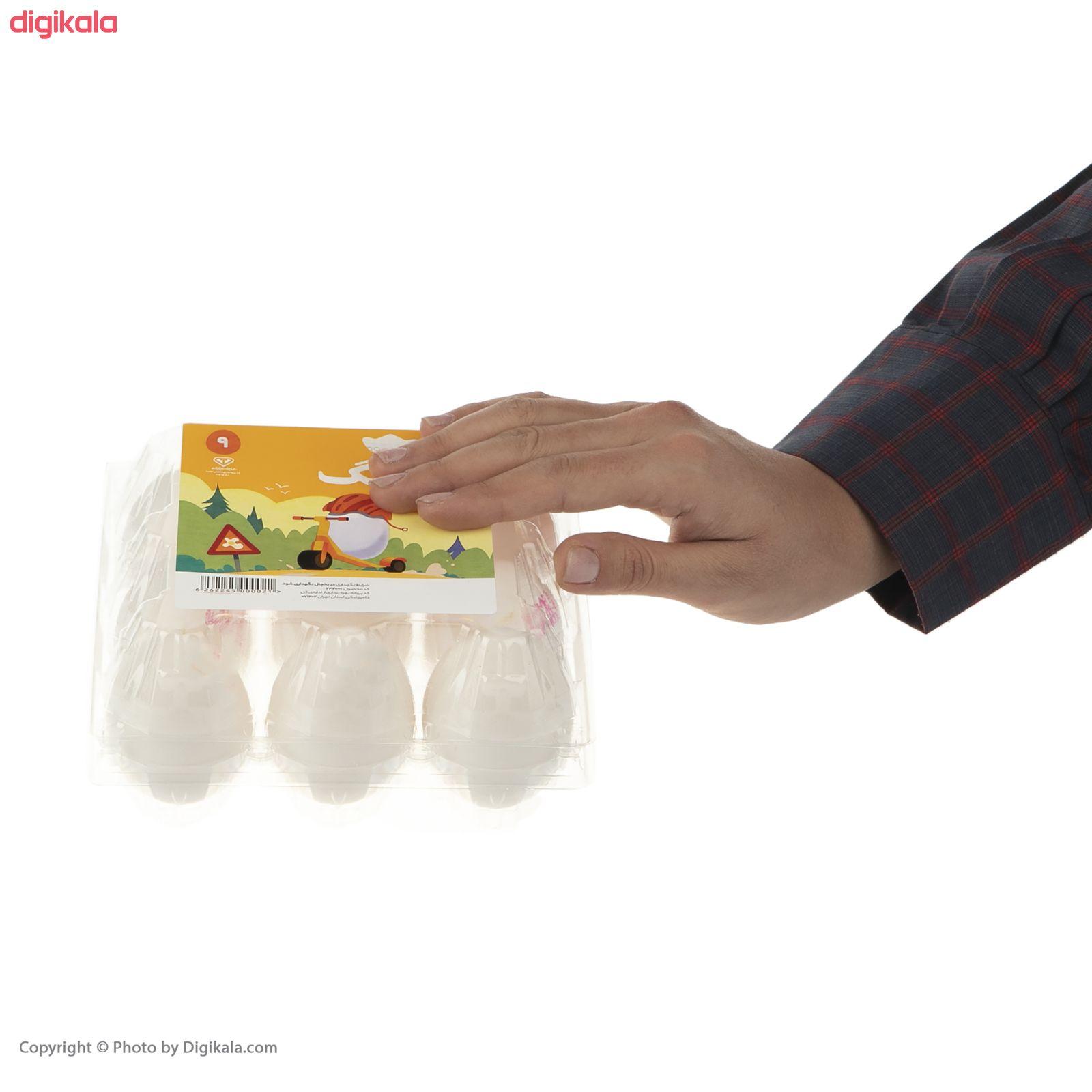تخم مرغ تلاونگ بسته 9 عددی main 1 7