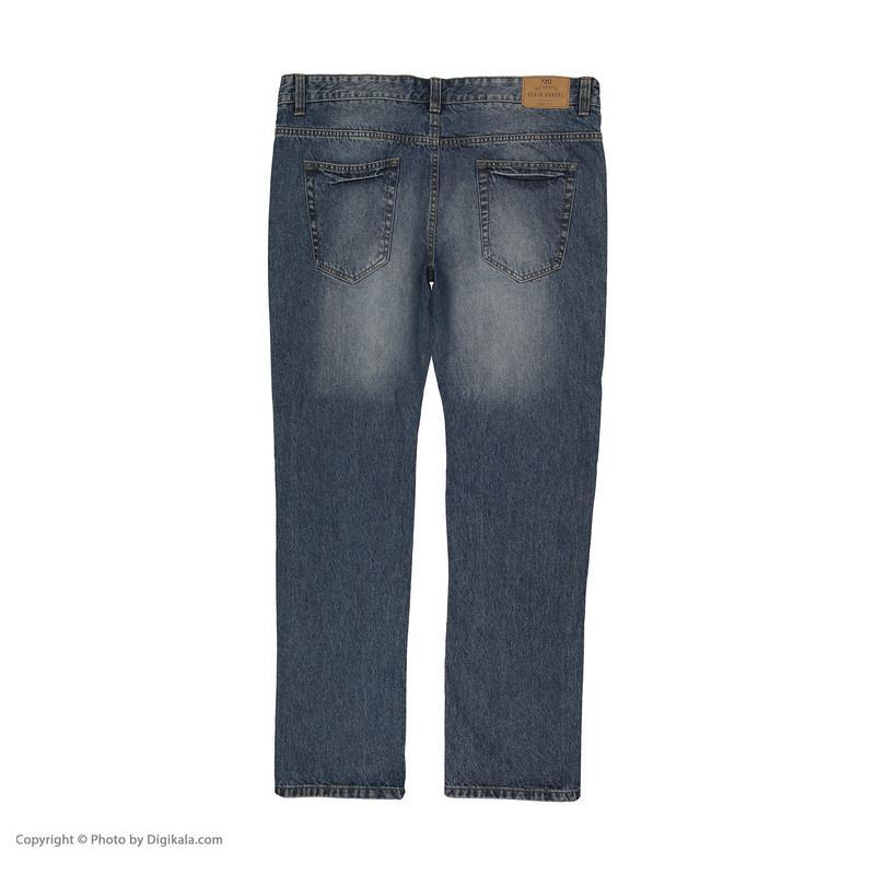 شلوار جین مردانه او وی اس مدل 000155222-BLUE