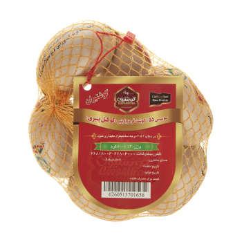 سوسیس کوکتل پنیری 55 درصد گوشت  گوشتیران - 500 گرم