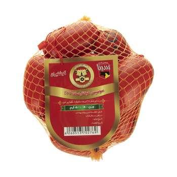 سوسیس کوکتل ساده 55 درصد گوشت گوشتیران - 500 گرم