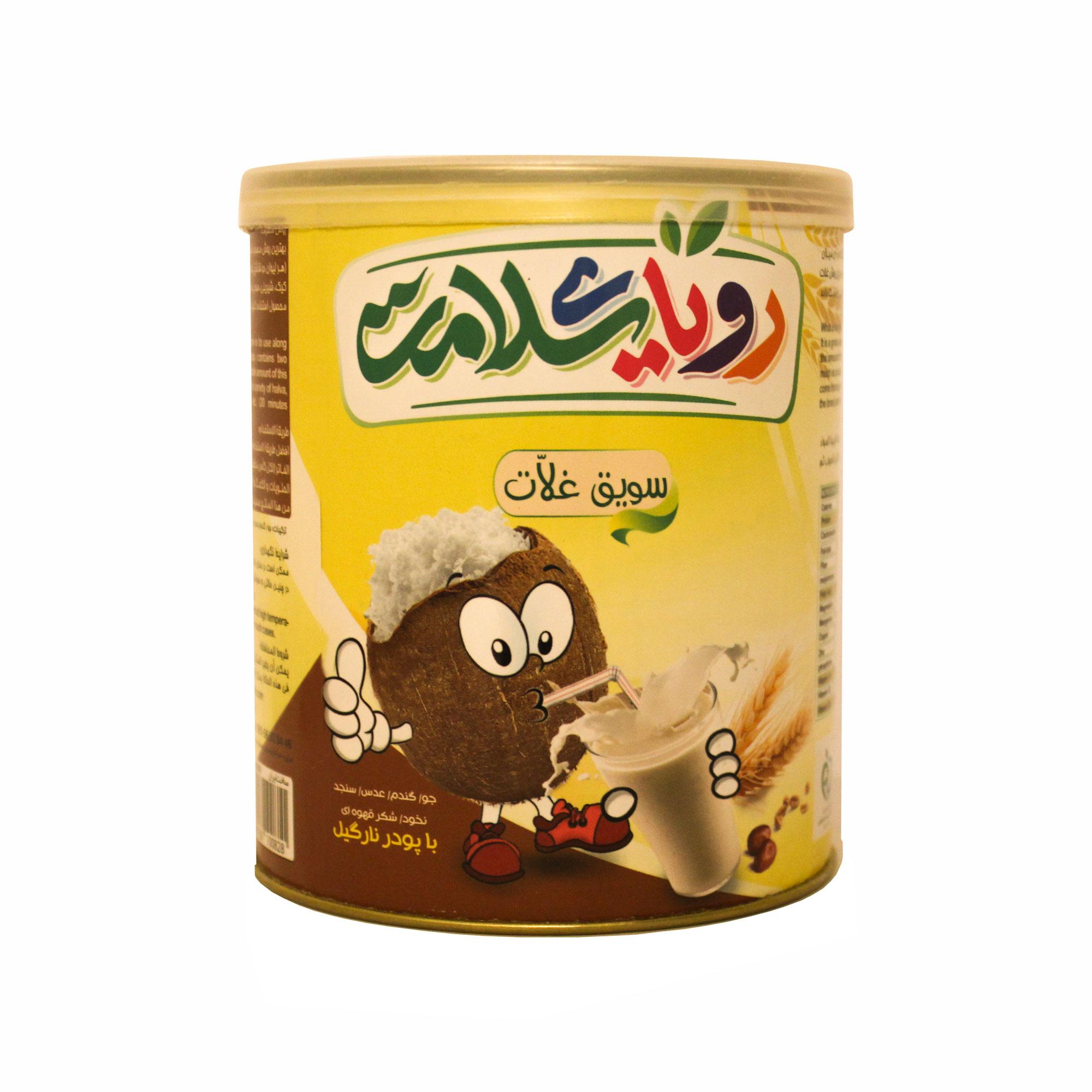غلات صبحانه ارگانیک با پودر نارگیل رویای سلامت - 400 گرم