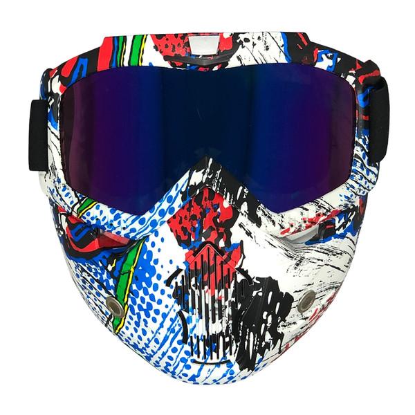 عینک موتور سواری مدل SEN_COL