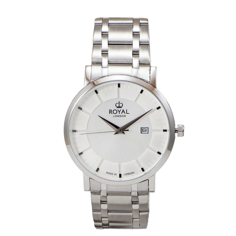 کد تخفیف                                      ساعت مچی عقربه ای مردانه رویال لندن مدل RL-41462-01