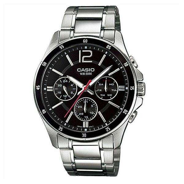 خرید                     ساعت مچی عقربه ای مردانه کاسیو کد MTP-1374D-1