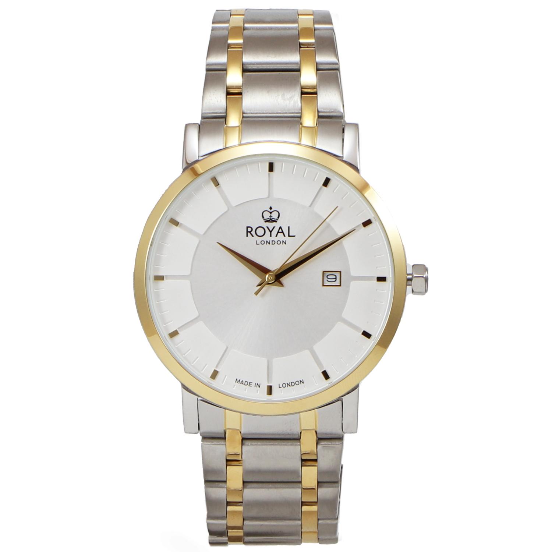 کد تخفیف                                      ساعت مچی عقربه ای مردانه رویال لندن مدل RL-41462-03