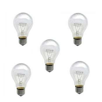 لامپ 100 وات پارس مدل ARR100 پایه E27 بسته 5 عددی