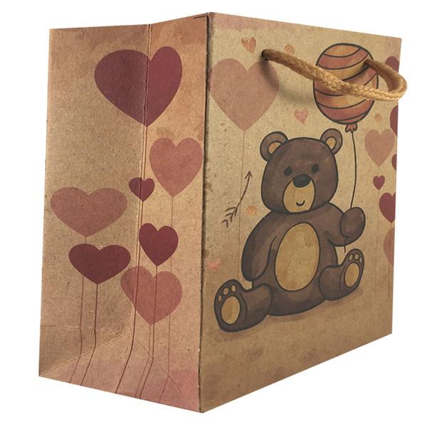 پاکت هدیه طرح خرس کد 1