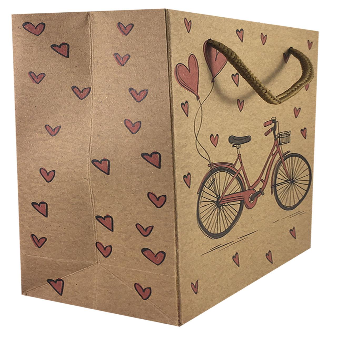 پاکت هدیه طرح دوچرخه کد 2
