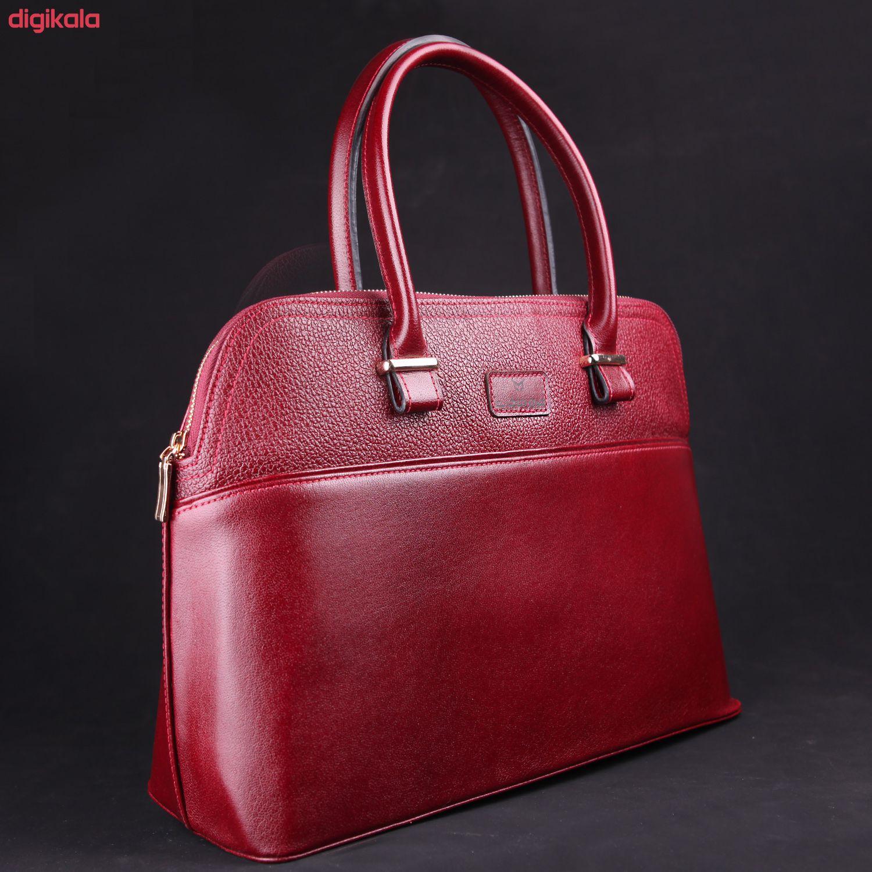 کیف دستی زنانه چرم ماکان کد DAVD-J0 main 1 24