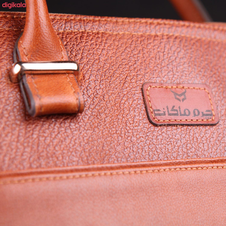کیف دستی زنانه چرم ماکان کد DAVD-J0 main 1 18