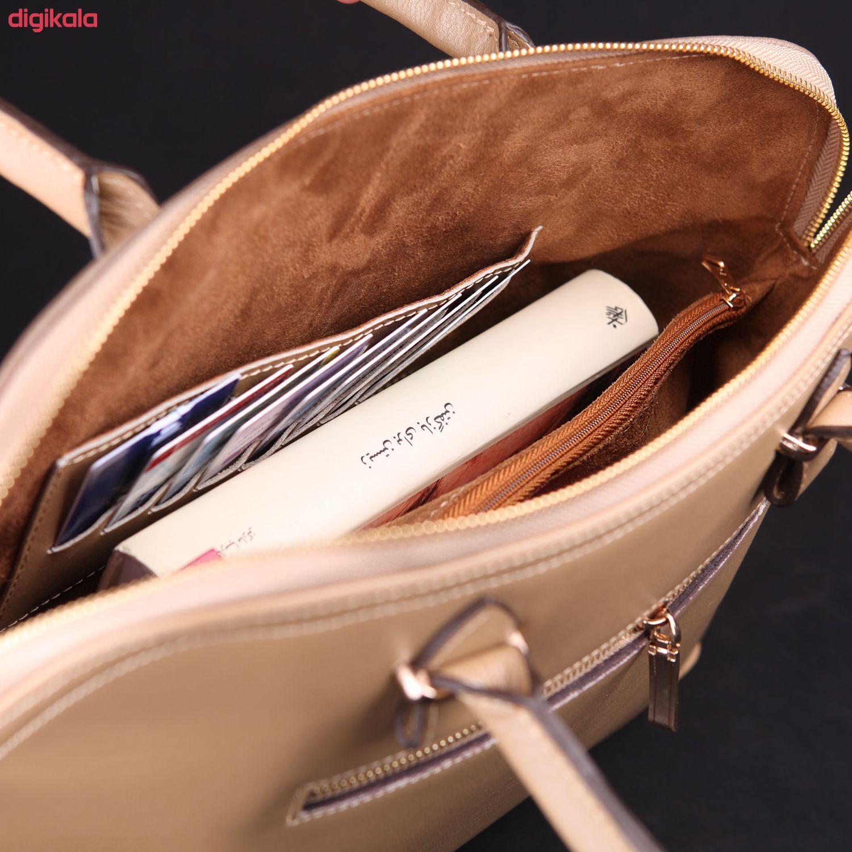 کیف دستی زنانه چرم ماکان کد DAVD-J0 main 1 7