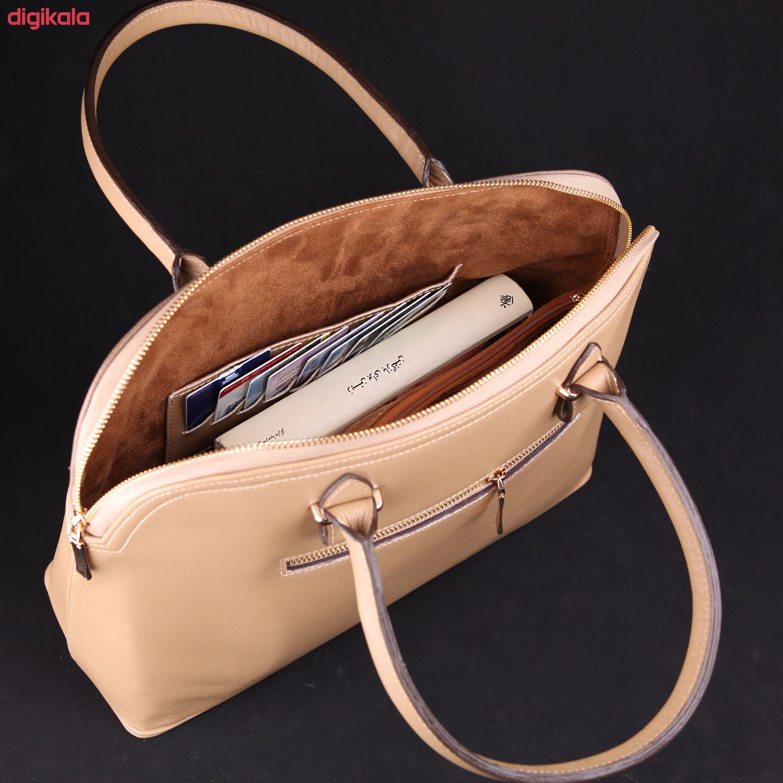 کیف دستی زنانه چرم ماکان کد DAVD-J0 main 1 10