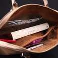 کیف دستی زنانه چرم ماکان کد DAVD-J0 thumb 3