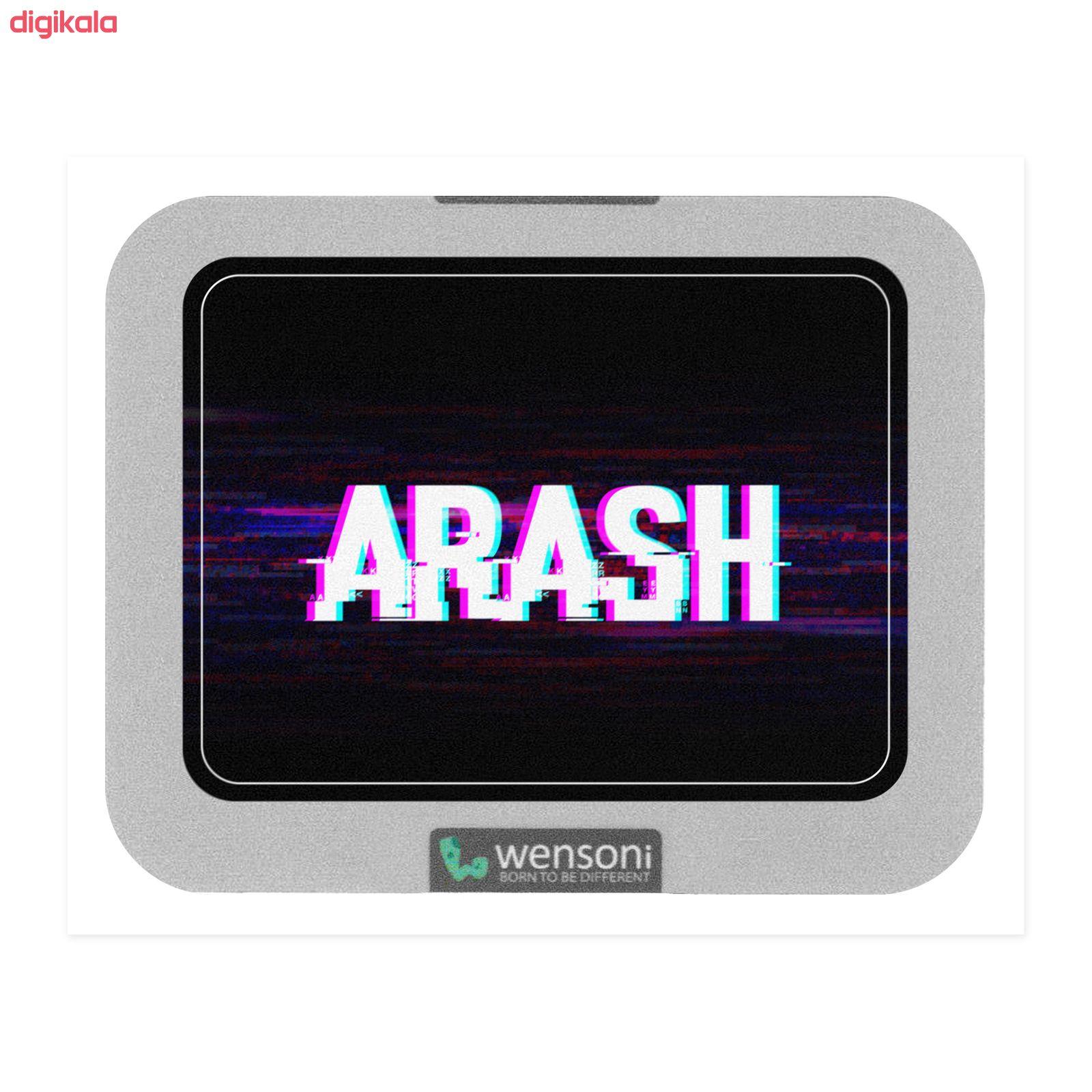 برچسب تاچ پد دسته پلی استیشن 4 ونسونی طرح ARASH