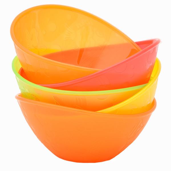 ظرف غذای کودک مانچکین کد F111 بسته 5 عددی
