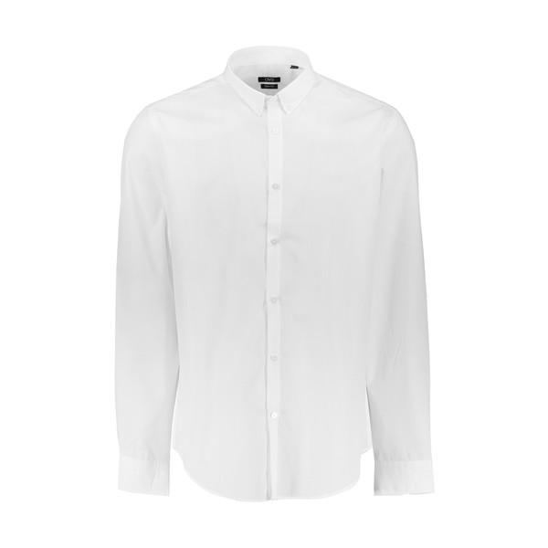 پیراهن مردانه او وی اس مدل 000155643-WHITE