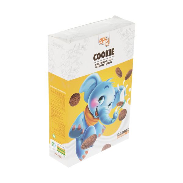 غلات صبحانه الفی مدل Cookie با طعم شکلات - 300 گرم