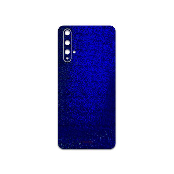 برچسب پوششی ماهوت مدل Blue-Holographic مناسب برای گوشی موبایل هوآوی NOVA 5T