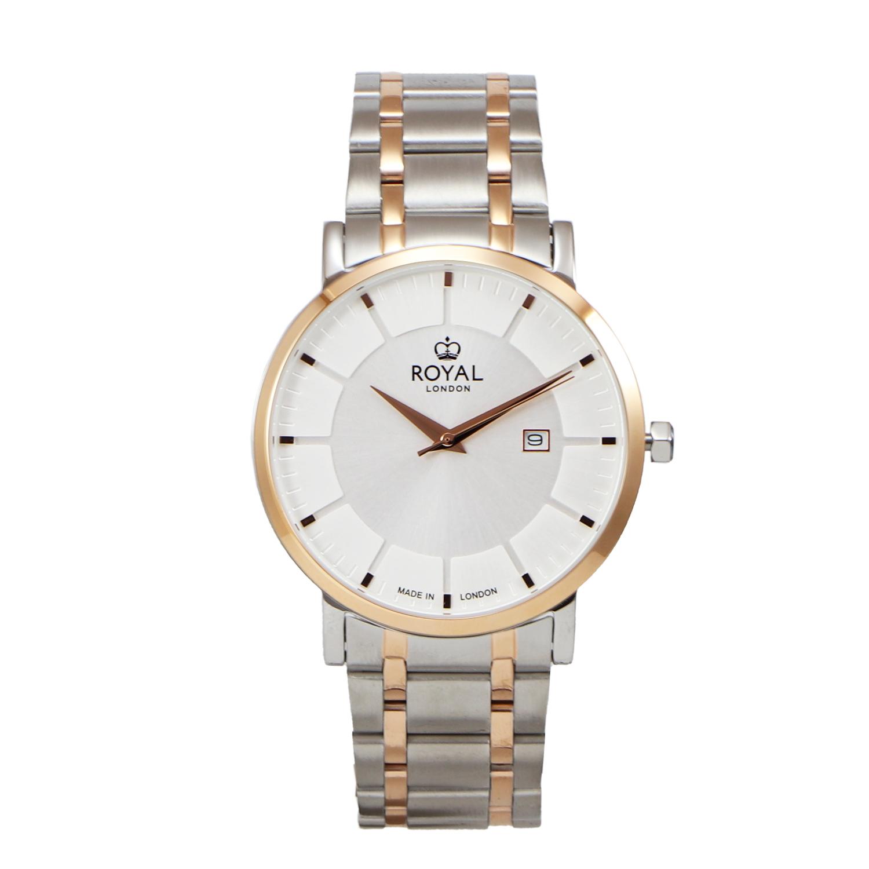 کد تخفیف                                      ساعت مچی عقربه ای مردانه رویال لندن مدل RL-41462-05