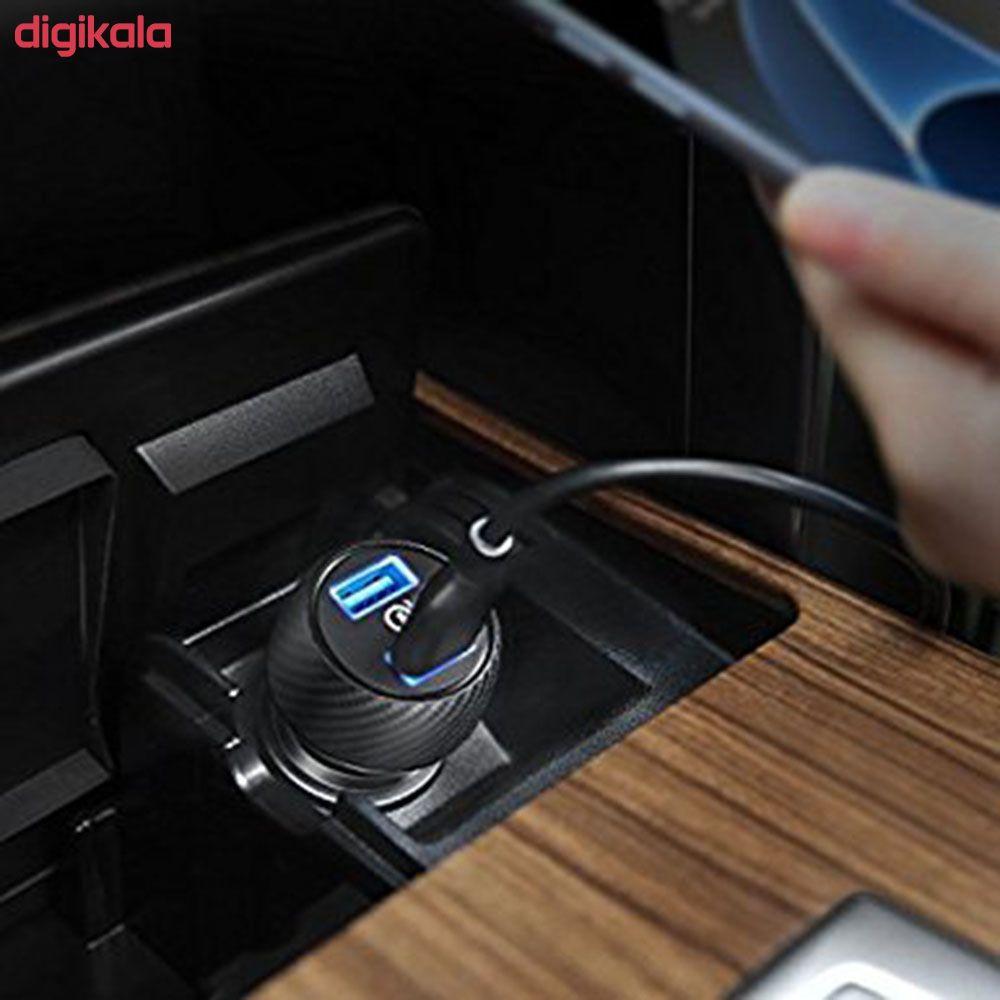 شارژر فندکی انکر مدل A2228 PowerDrive Speed 2 Ports With Quick Charge 3.0 main 1 8