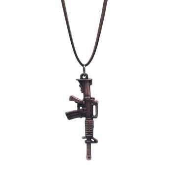 گردنبند طرح تفنگ کد 001