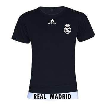 تیشرت ورزشی مردانه طرح تیم رئال مادرید کد 6432