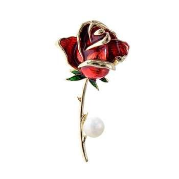 گل سینه زنانه شهر جواهر کد SJ-BR078