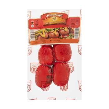 سوسیس کوکتل ساده 55 درصد گوشت گوشتیران - 300 گرم
