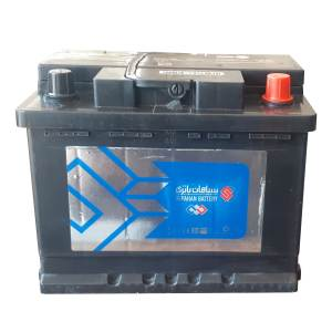باتری اتمی خودرو سپاهان باطری مدل 55001