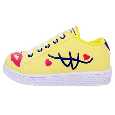 تصویر کفش راحتی دخترانه مدل SMILE_YDS11