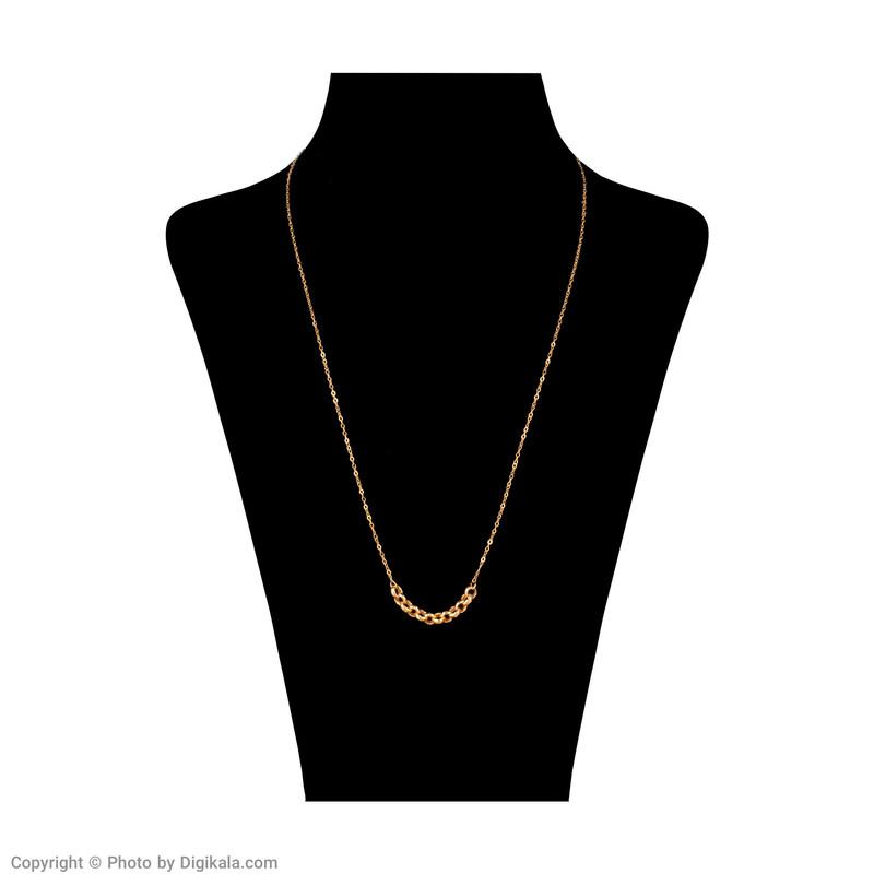 گردنبند طلا 18 عیار زنانه مدل MM0953