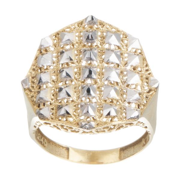 انگشتر طلا 18 عیار زنانه آلند کد H101