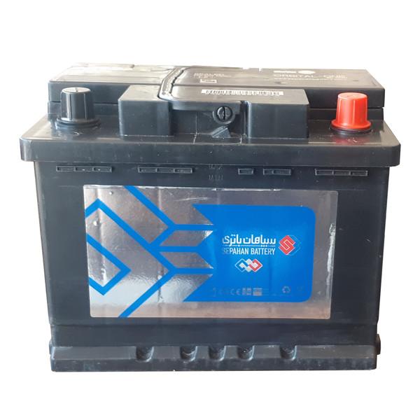 باتری اتمی خودرو سپاهان باطری مدل 56011