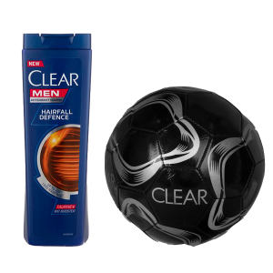 شامپو ضد شوره مردانه کلیر مدل Hairfall Defense حجم 400 میلی لیتر