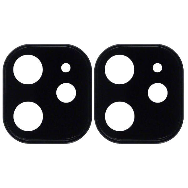 محافظ لنز دوربین راک مدل 3DSLP مناسب برای گوشی موبایل اپل iPhone 11 بسته دو عددی