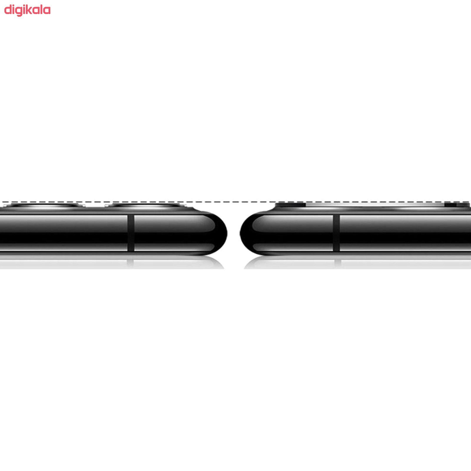 محافظ لنز دوربین راک مدل 3DSLP مناسب برای گوشی موبایل اپل iPhone 11 بسته دو عددی main 1 7