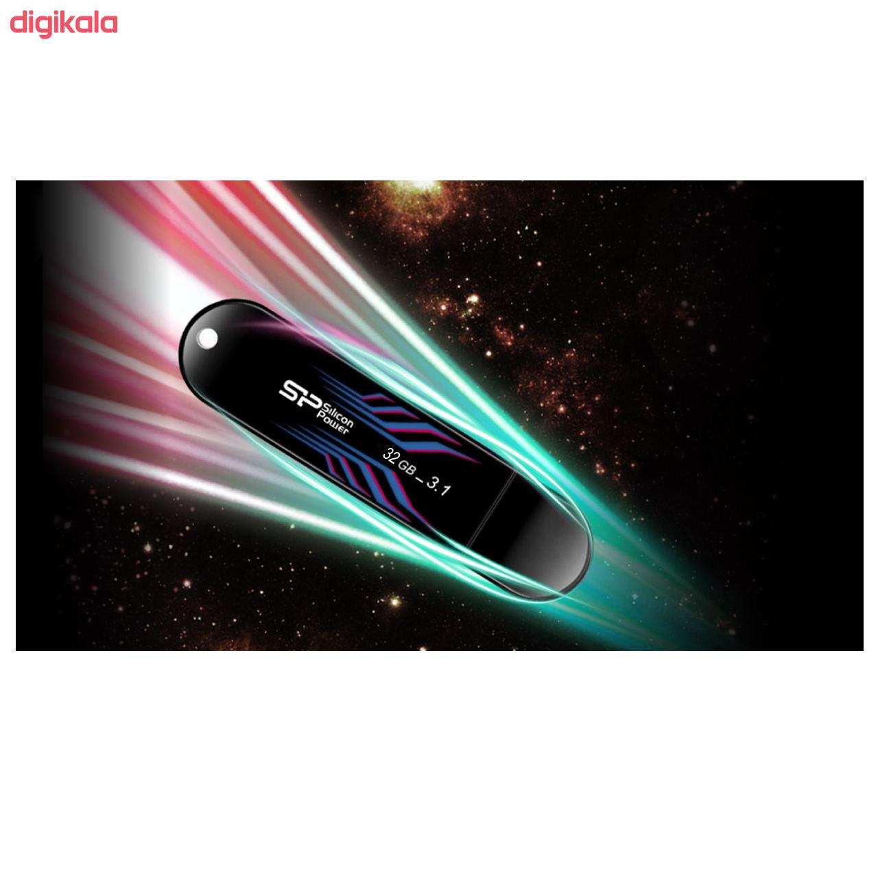 فلش مموری سیلیکون پاور مدل Blaze B10 ظرفیت 32 گیگابایت main 1 3