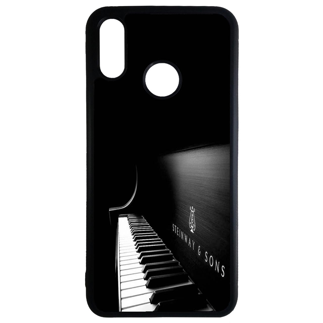 کاور طرح پیانو کد 11050646 مناسب برای گوشی موبایل هوآوی y7 2019
