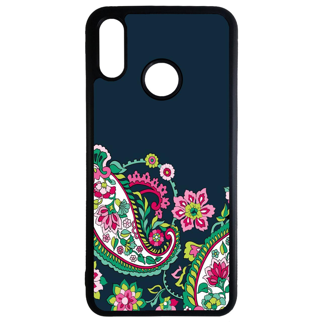 کاور طرح گل و بوته کد 11050647 مناسب برای گوشی موبایل هوآوی y7 2019