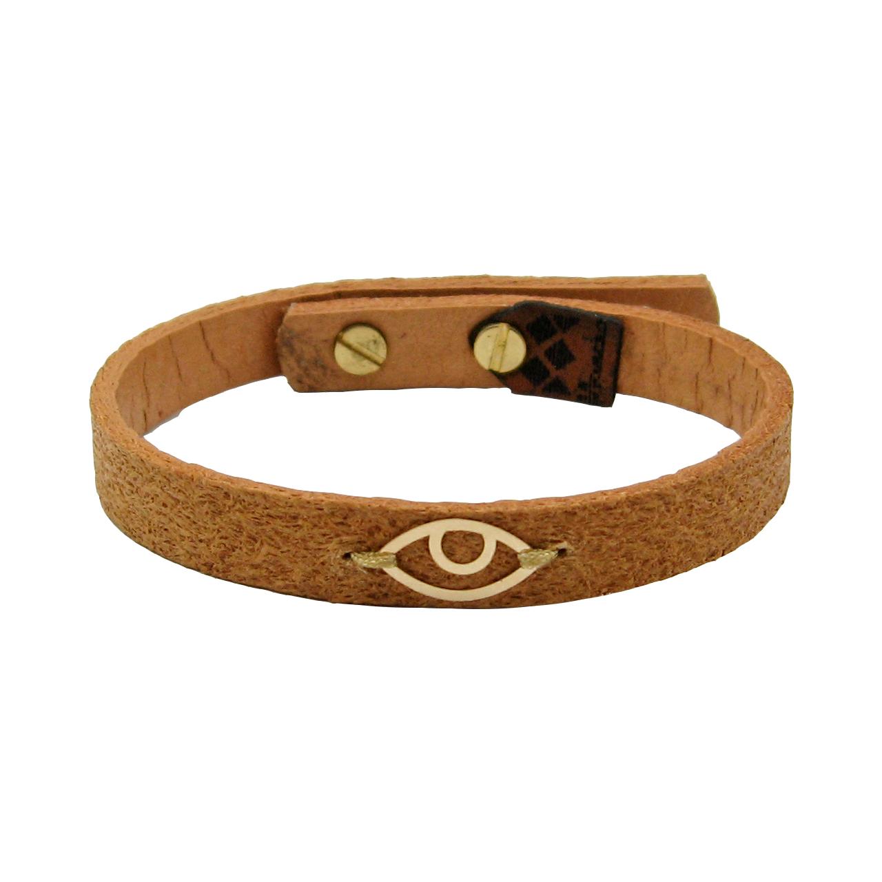 دستبند طلا 18 عیار زنانه مانچو کد bfg191