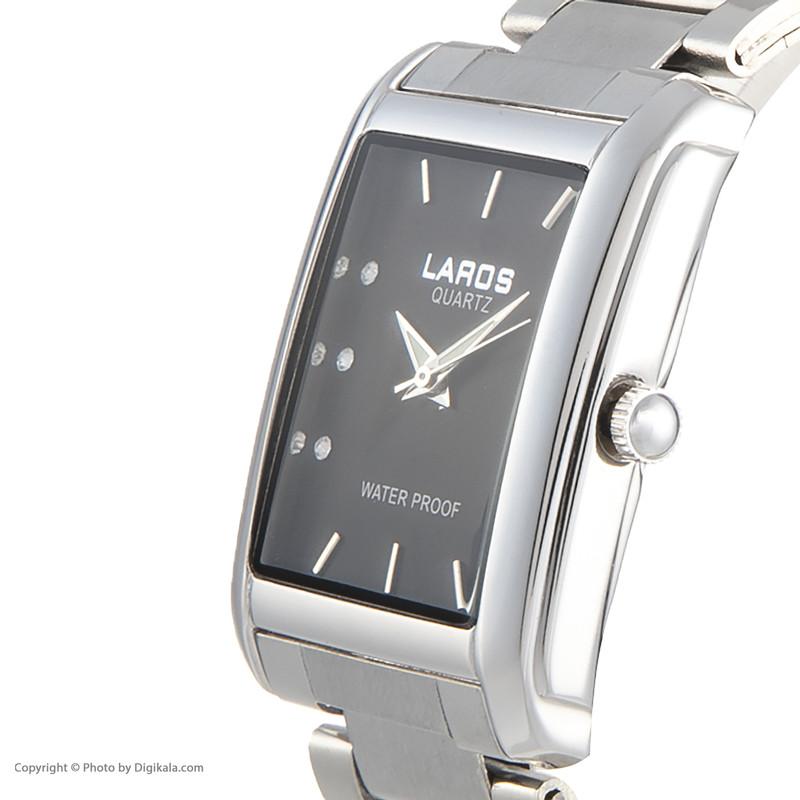ساعت مچی عقربه ای لاروس مدل No 812-73357