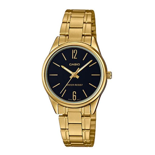 ساعت مچی عقربه ای زنانه کاسیو مدل LTP-V005G-1BUDF