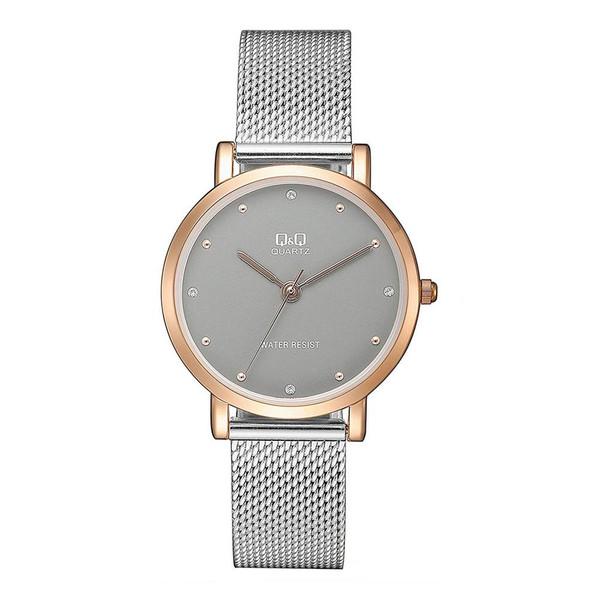 ساعت مچی عقربه ای زنانه کیو اند کیو مدل QA21J412Y