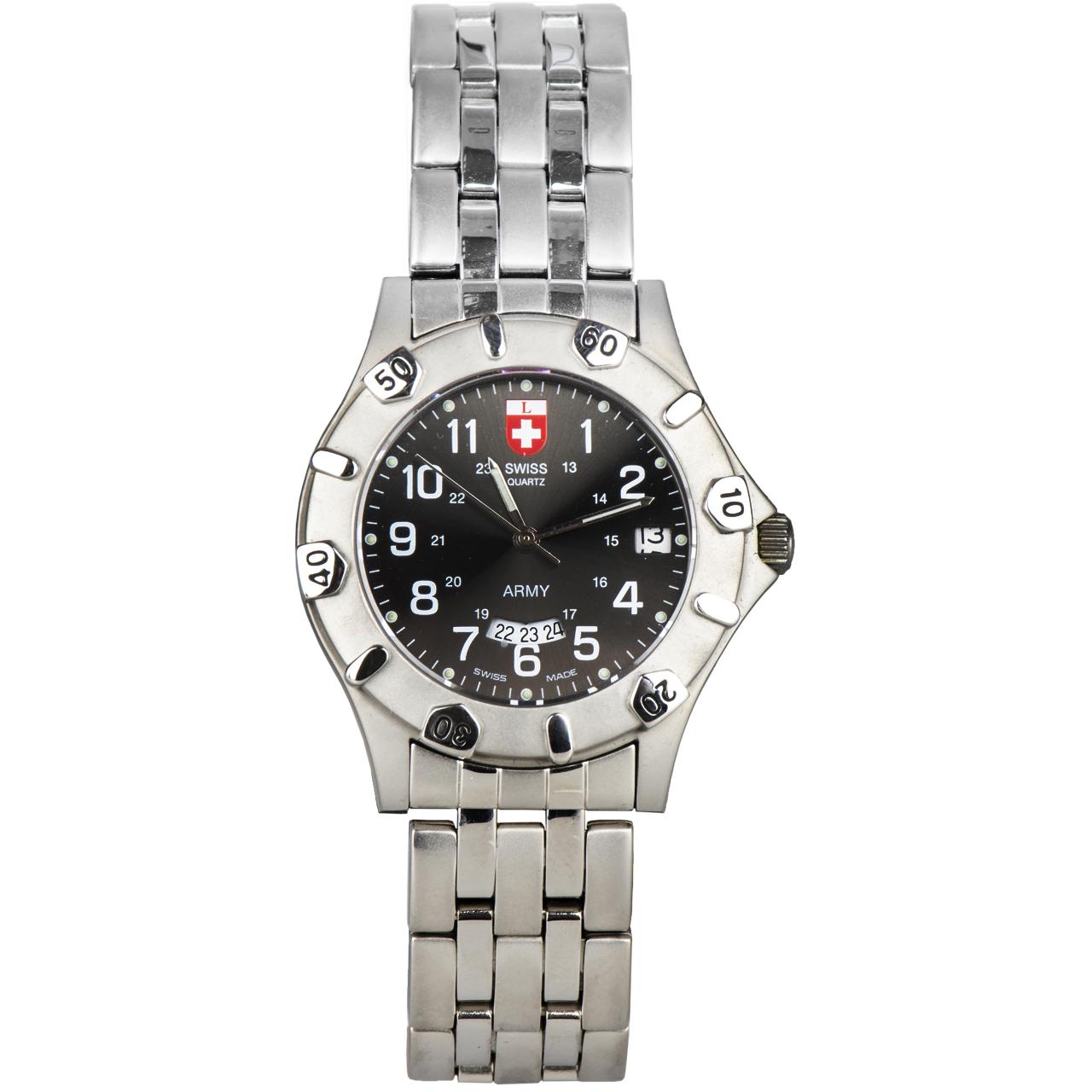 کد تخفیف                                      ساعت مچی عقربه ای سوئیس آرمی مدل 1271BIMB