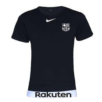 تیشرت ورزشی مردانه طرح بارسلونا کد 3923