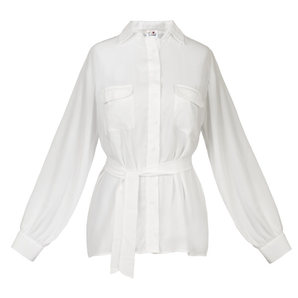 شومیز زنانه مدل 110 رنگ سفید