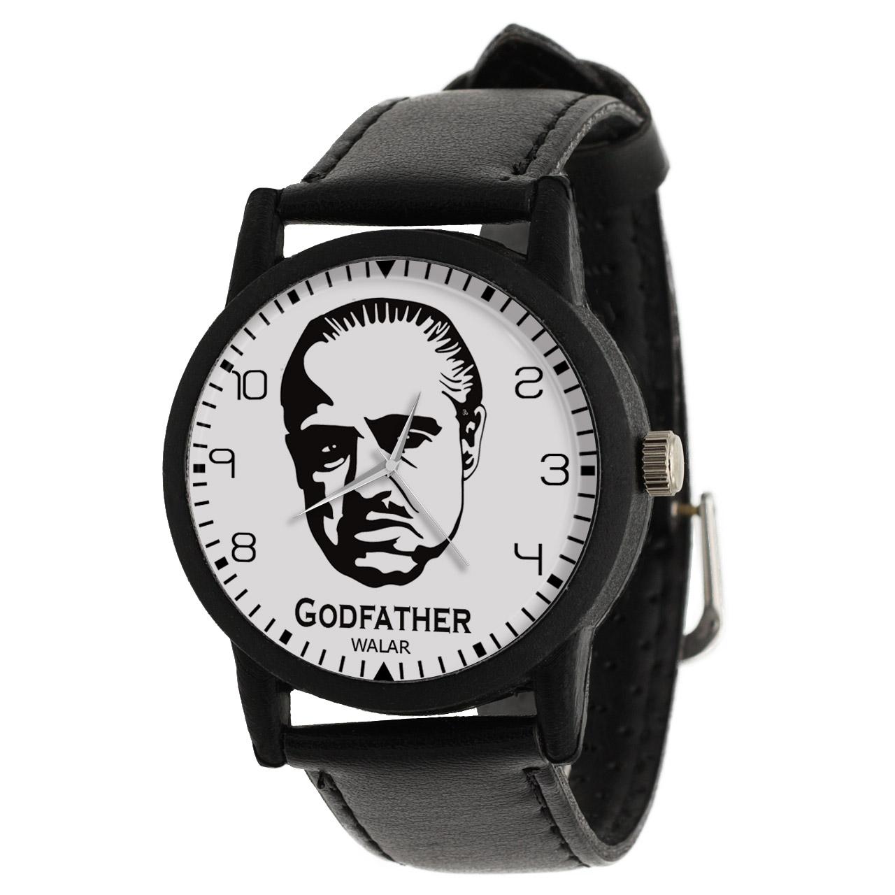 کد تخفیف                                      ساعت مچی عقربه ای مردانه والار طرح پدرخوانده کد LF2015