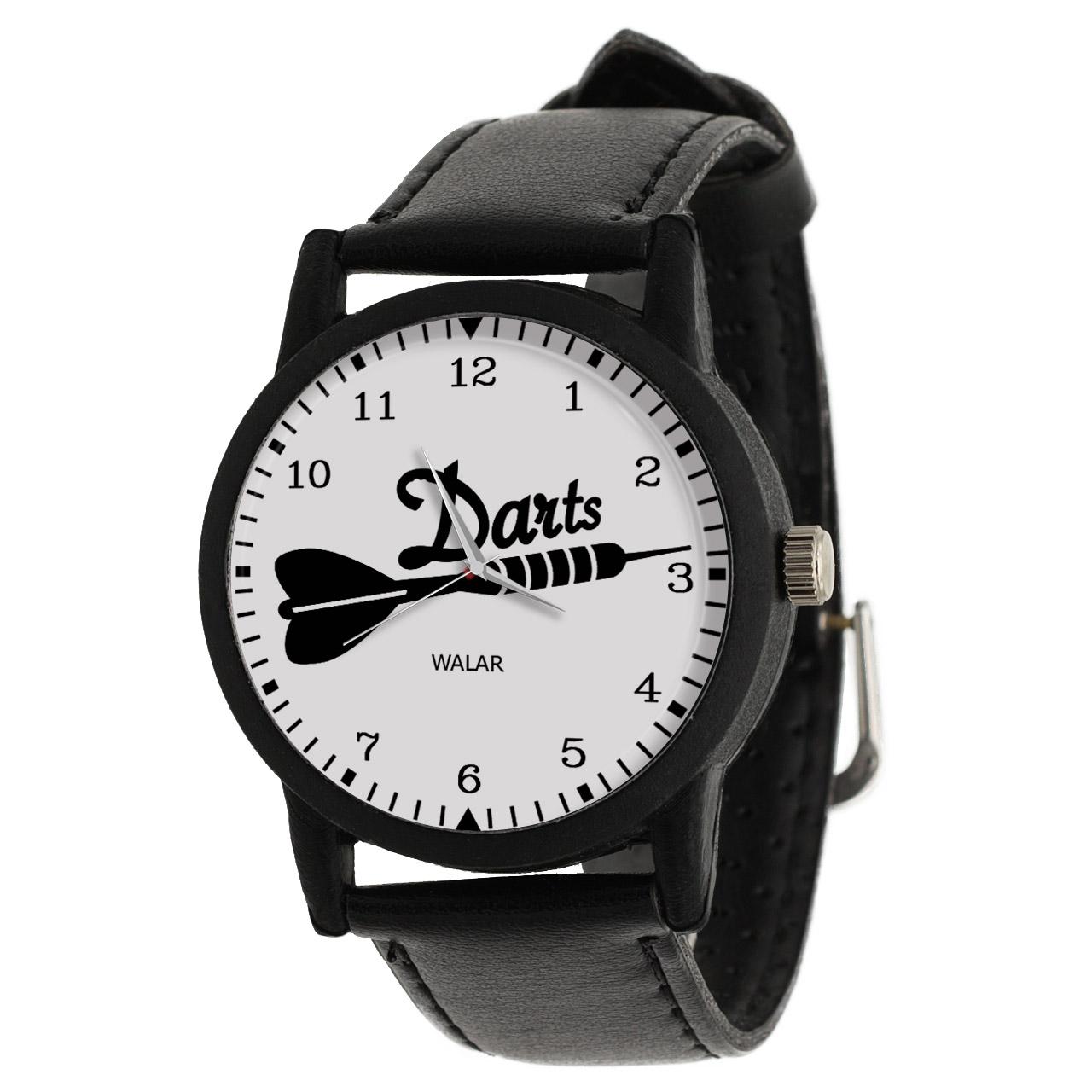 کد تخفیف                                      ساعت مچی عقربه ای والار طرح دارت کد LF2029