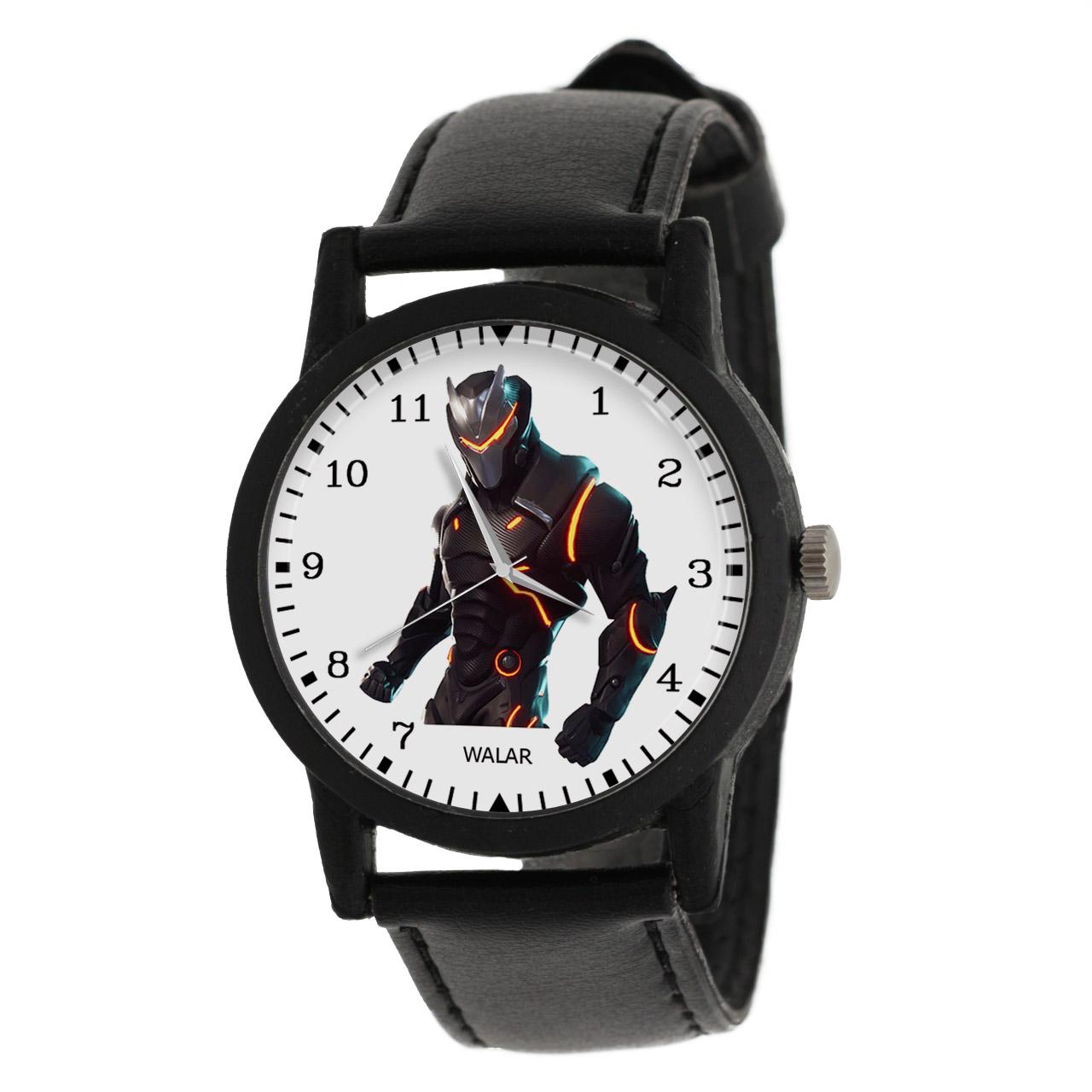 ساعت مچی عقربه ای والار طرح فورتنایت کد LF2036
