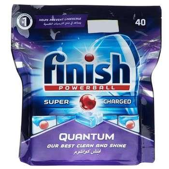 قرص ظرفشویی فینیش مدل کوانتوم بسته 40 عددی